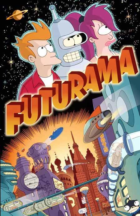 Film Kartun Yang Tidak Cocok Ditonton Anak-Anak - Futurama