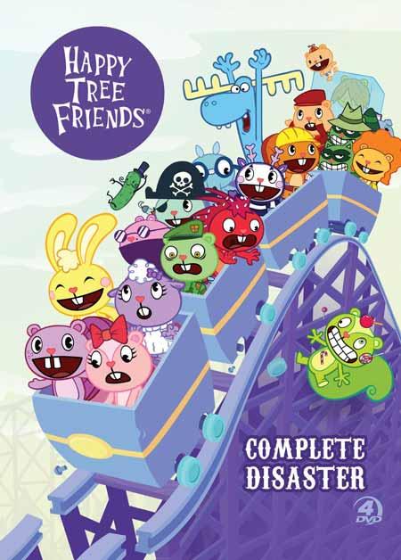 Film Kartun Yang Tidak Cocok Ditonton Anak-Anak - Happy Tree Friends