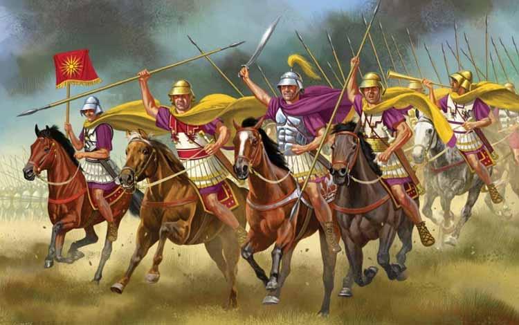 Pasukan Militer Kerajaan Di Dunia Pada Zaman Dulu - Hetairoi