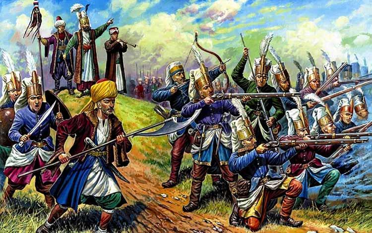 Pasukan Militer Kerajaan Di Dunia Pada Zaman Dulu - Janissary