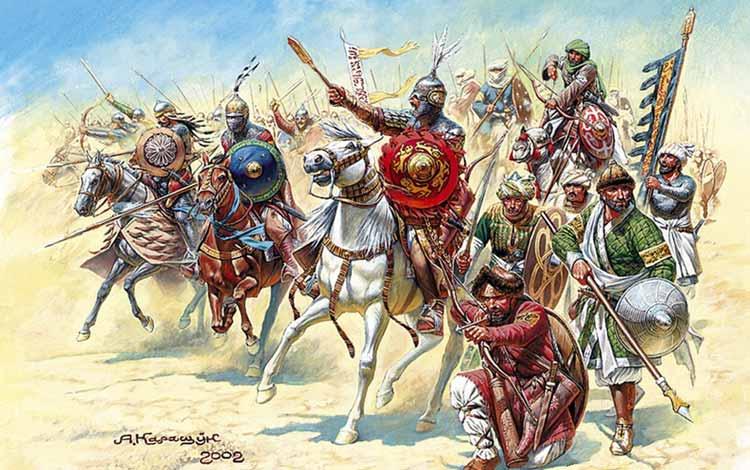 Pasukan Militer Kerajaan Di Dunia Pada Zaman Dulu - Mamluk