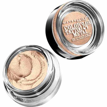 Produk Kosmetik Maybelline Terpopuler Saat Ini - Maybelline Eye Studio Color Tattoo Metal 24Hr Cream Gel Shadow