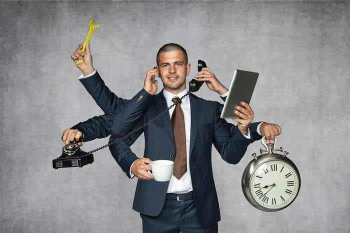 Berbagai Kelebihan Orang Kidal Dibandingkan Orang Normal - Multitasking