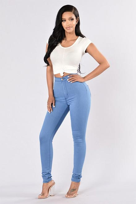 Pakaian seksi wanita tidak vulgar - Skinny jeans