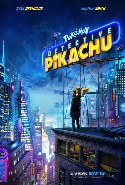 Film Bioskop Mei 2019 - Pokemon Detective Pikachu