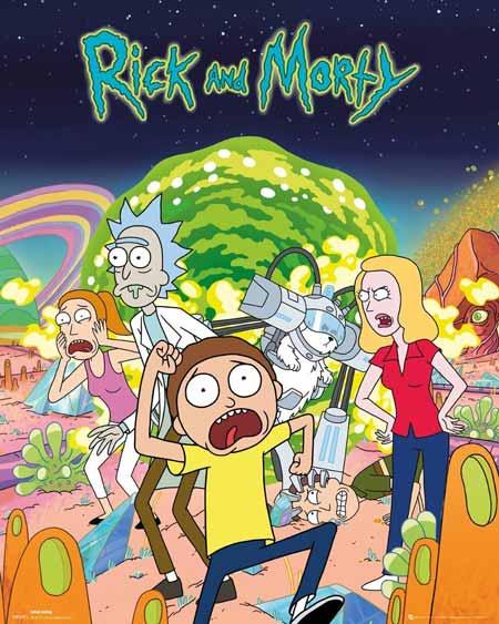 Film Kartun Yang Tidak Cocok Ditonton Anak-Anak - Rick and Morty