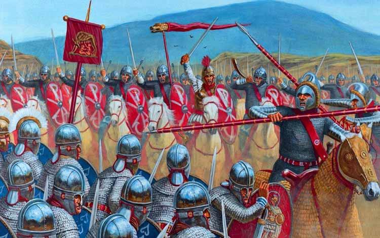 Pasukan Militer Kerajaan Di Dunia Pada Zaman Dulu - Roman Legion