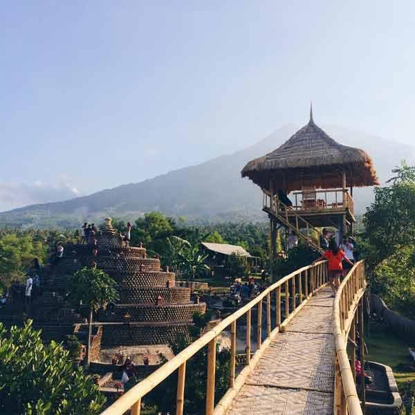 Tempat Wisata Terbaru Di Bali - Rumah Pohon Batu Dawa