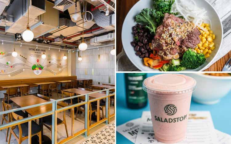 Restoran Makanan Sehat di Jakarta - SaladStop!