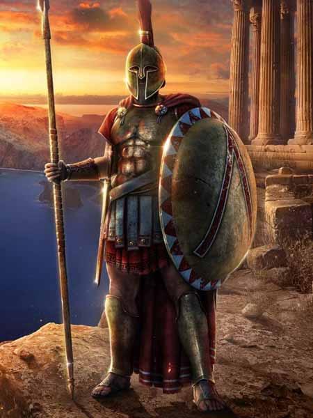 Pasukan Militer Kerajaan Di Dunia Pada Zaman Dulu - Sparta