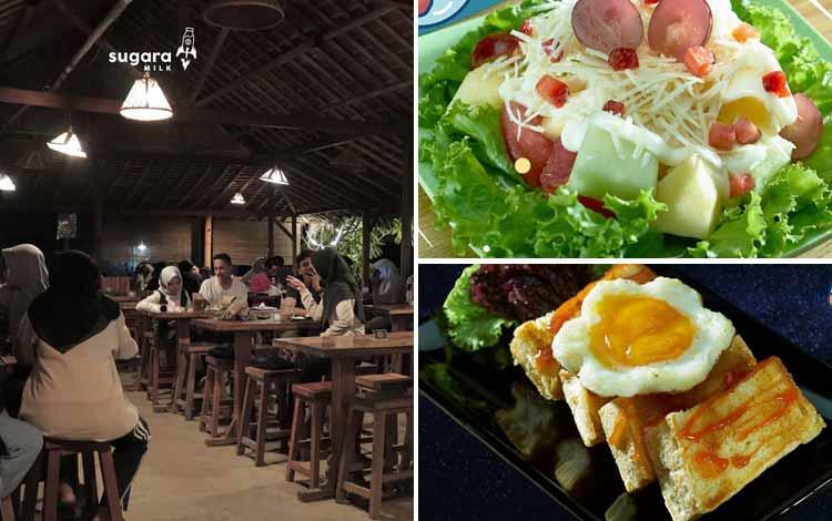 Restoran Dengan Menu Sehat Di Yogyakarta - Sugara Milk