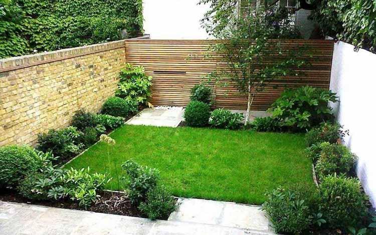Desain Taman Untuk Rumah Berukuran Kecil