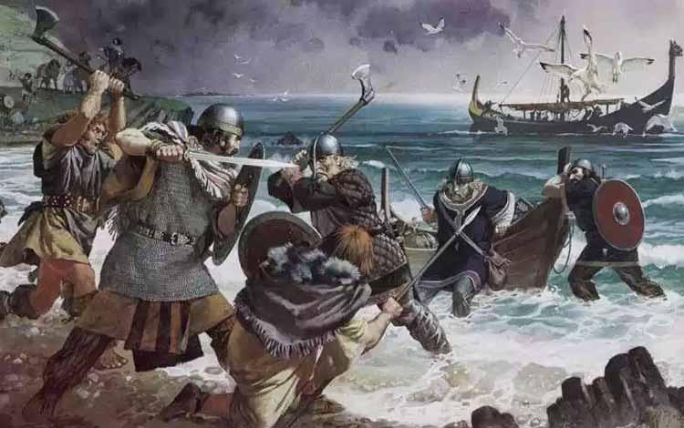 Pasukan Militer Kerajaan Di Dunia Pada Zaman Dulu - Viking