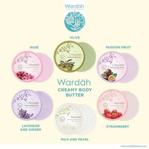 Produk Kosmetik Wardah Terpopuler - Wardah Body Butter