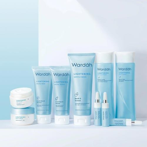 Produk Kosmetik Wardah Terpopuler - Wardah Lightening Series