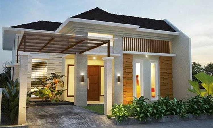 Rumah simple minimalis - 1 lantai