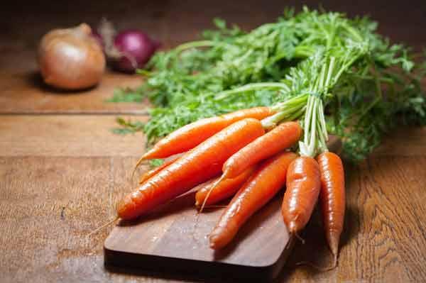 Makanan untuk meningkatkan vitalitas pria - wortel