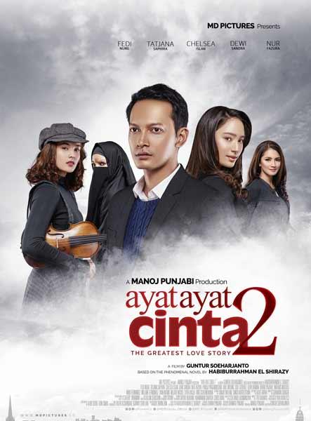 Daftar Film Indonesia Dengan Pendapatan Terbesar - Ayat Ayat Cinta 2