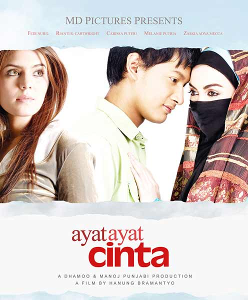 Daftar Film Indonesia Dengan Pendapatan Terbesar - Ayat-ayat Cinta