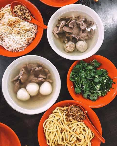Tempat makan bakso terenak di Jakarta - Bakso Akiaw 99