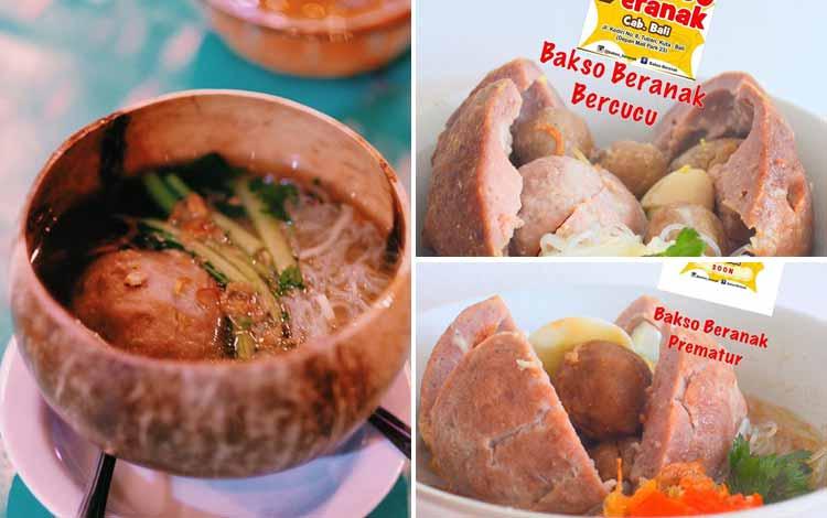 Tempat Makan Bakso Enak Di Bali - Bakso Beranak