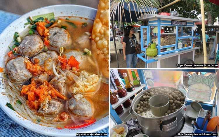 Tempat Makan Bakso Enak Di Bali - Bakso Gerobak Biru