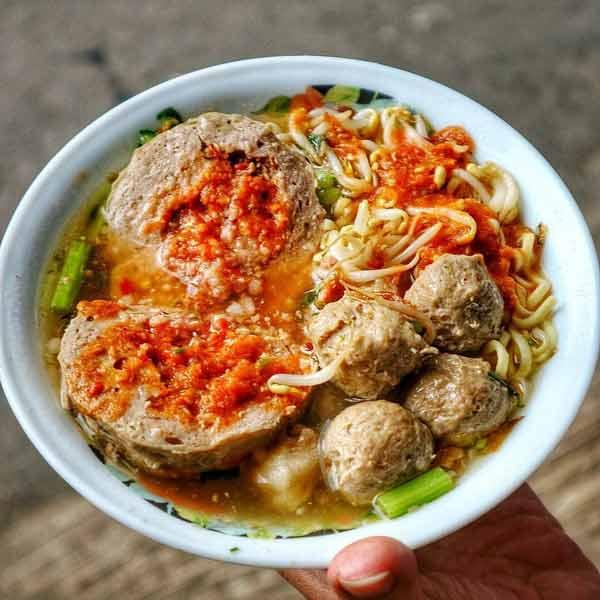 Tempat makan bakso terenak di Jakarta - Bakso Mercon Pak Roso