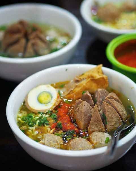 Tempat makan bakso terenak di Jakarta - Bakso Pak Pur Kemayoran