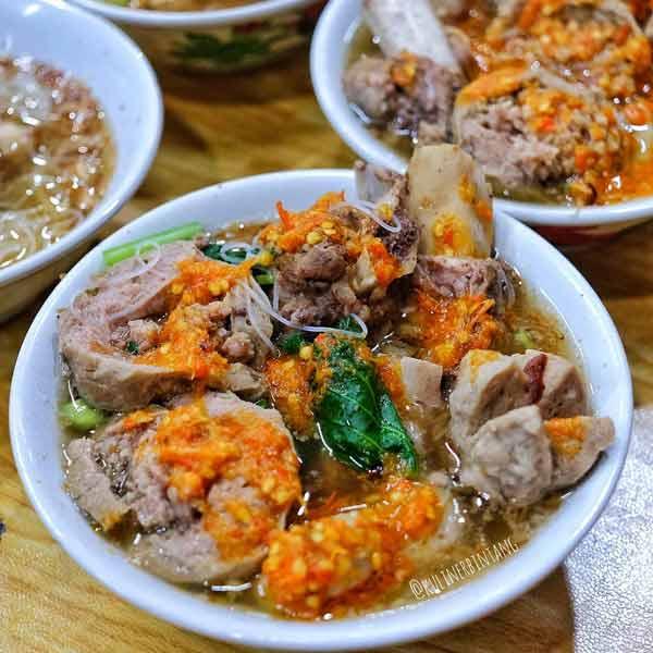 Tempat makan bakso terenak di Jakarta - Bakso Rusuk Samanhudi