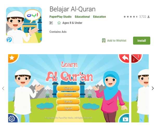 Deretan Aplikasi Untuk Belajar Mengaji Terbaik Dan Rekomended - Belajar Al-Quran