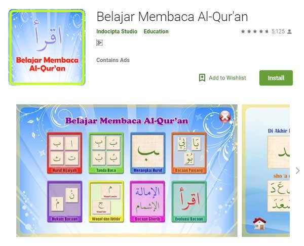 Deretan Aplikasi Untuk Belajar Mengaji Terbaik Dan Rekomended - Belajar Membaca Al-Qur'an