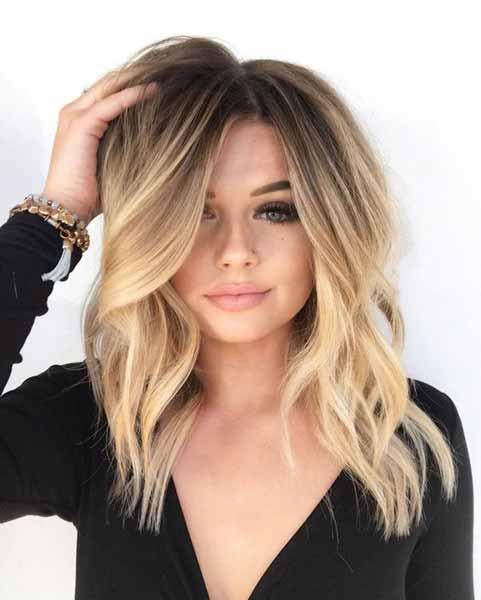 Gaya Rambut Untuk Wajah Bulat - Curls