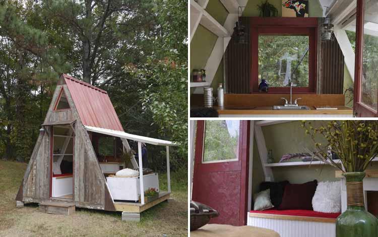 Daftar Rumah Terkecil Di Dunia - A Frame House