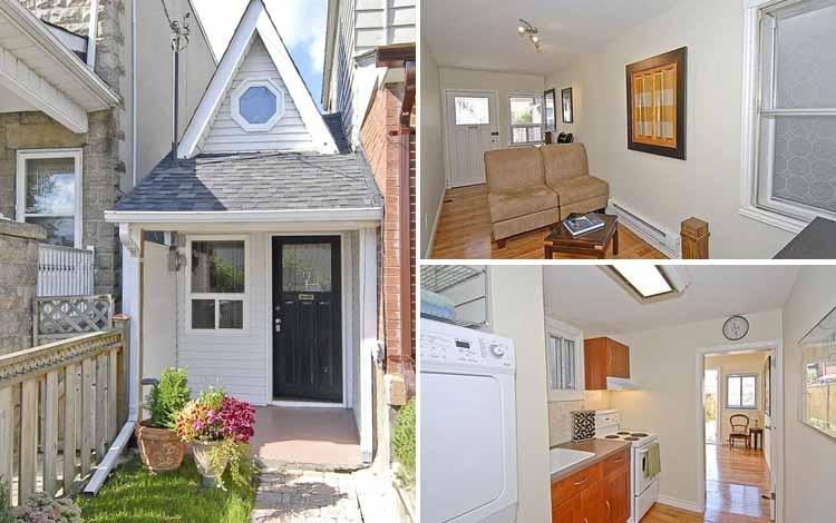 Daftar Rumah Terkecil Di Dunia - Little House Toronto