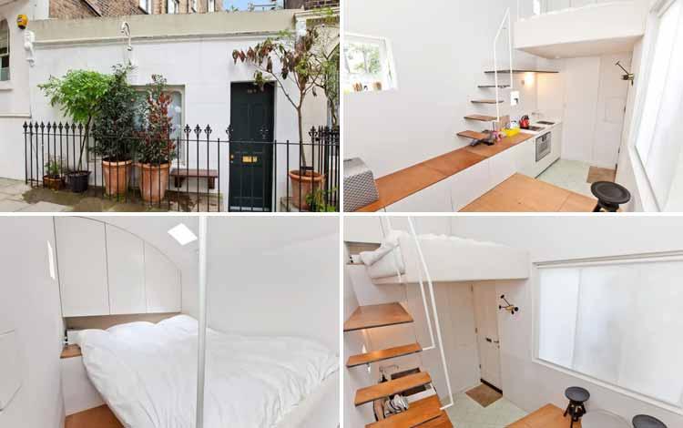 Daftar Rumah Terkecil Di Dunia - Tiny House Barnsbury