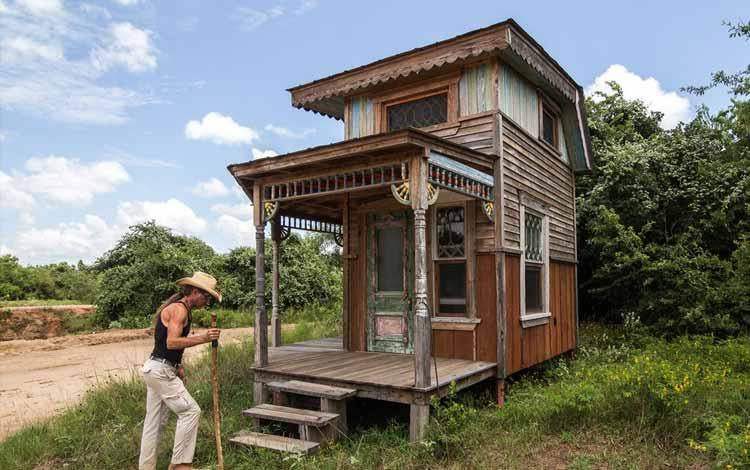Daftar Rumah Terkecil Di Dunia - Tiny Texas House