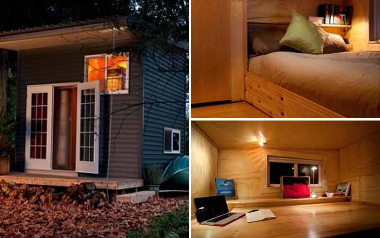 Daftar Rumah Terkecil Di Dunia - Twelve Cubed Mini Home