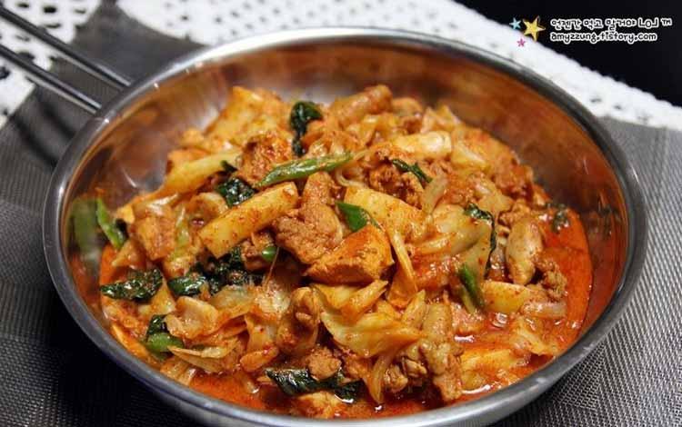 Makanan Korea Dengan Rasa Yang Super Lezat - Dakgalbi
