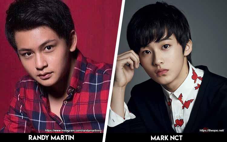 Deretan Artis Indonesia Yang Mirip Artis Korea - Randy Martin x Mark NCT