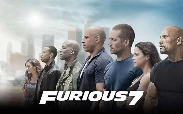 Film Dengan Pendapatan Teresar Di Dunia - Furious 7