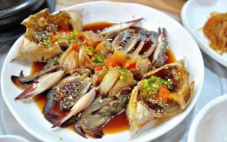 Masakan Korea Enak dan Lezat - Ganjang Gejang