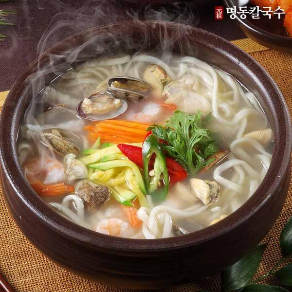 Masakan Korea Enak dan Lezat - Kalguksu