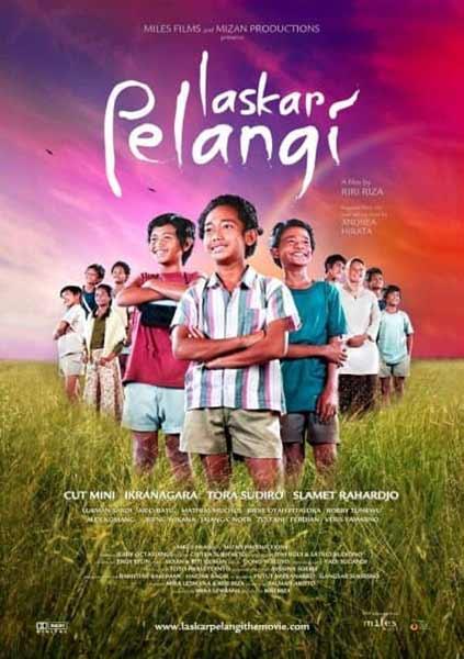 Daftar Film Indonesia Dengan Pendapatan Terbesar - Laskar Pelangi