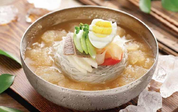 Makanan Korea Dengan Rasa Yang Super Lezat - Naengmyeon