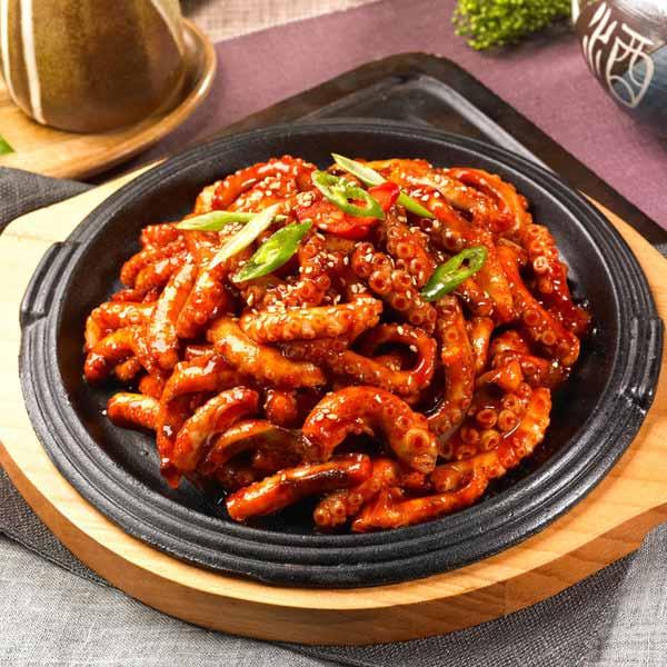 Makanan Korea Dengan Rasa Yang Super Lezat - Nakji Bokkeum