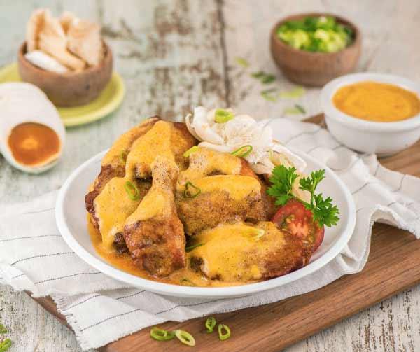 Aneka Kuliner Kekinian Yang Ternyata Bahaya Bagi Kesehatan - Salted Egg Chicken