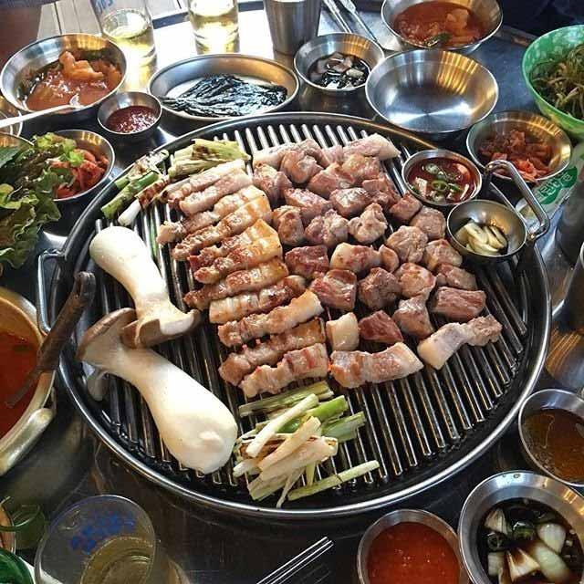 Masakan Korea Enak dan Lezat - Samgyeopsal