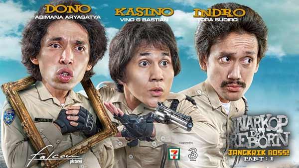 Daftar Film Indonesia Dengan Pendapatan Terbesar - Warkop DKI Reborn Jangkrik Boss Part 1