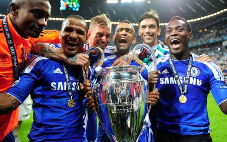 Chelsea menang Liga Champions 19 Mei 2012