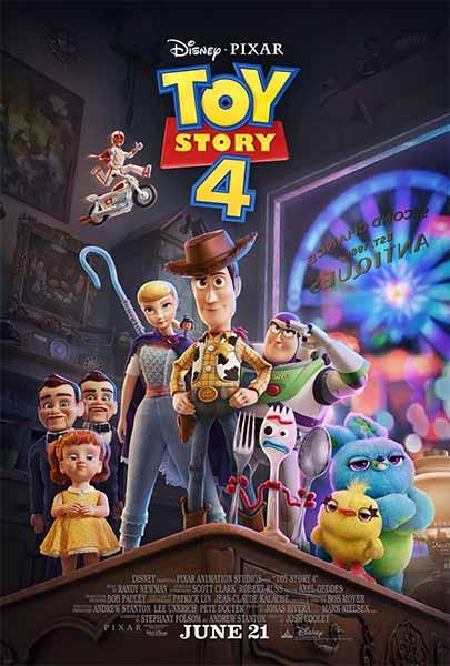 Film bioskop Juni 2019 - Toy Story 4